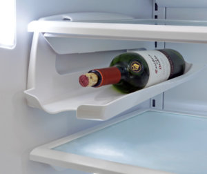 Bottle in fridge compartment