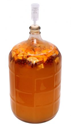 Honey Mead Brewing Demijohn