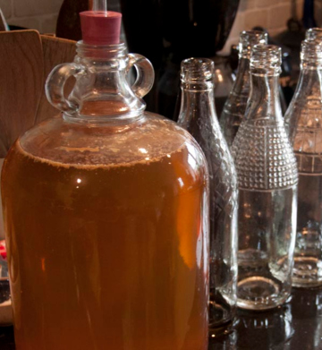 demijohn wine clearing