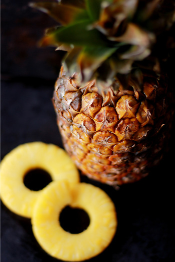 Pineapples for pineapple wine recipe
