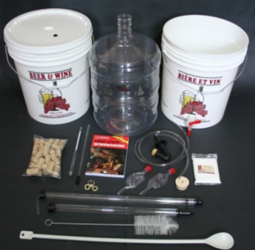 wine making kit equipment