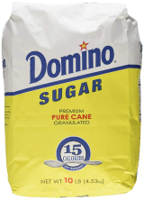 granulated white sugar - domino