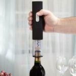 Quntis Electric Wine Opener, Rechargeable Automatic Corkscrew