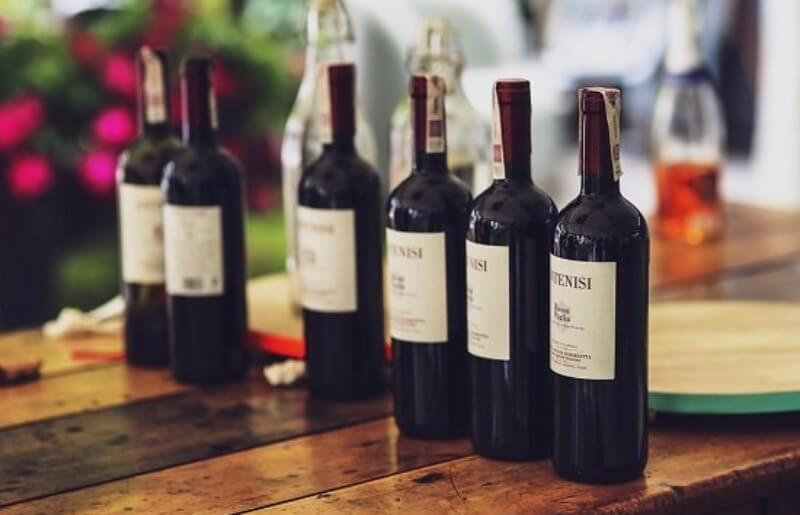 Wine-bottles-outside-daylight